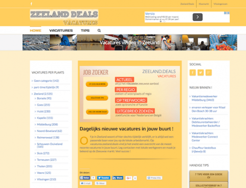 Job vacancies in Zeeland